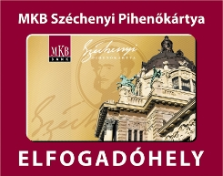 MKB SZÉP kártya elfogadóhely
