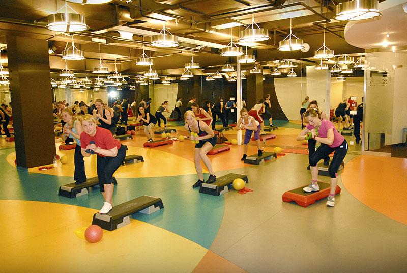 Bank Center Fitness - képgaléria - Nyilt nap