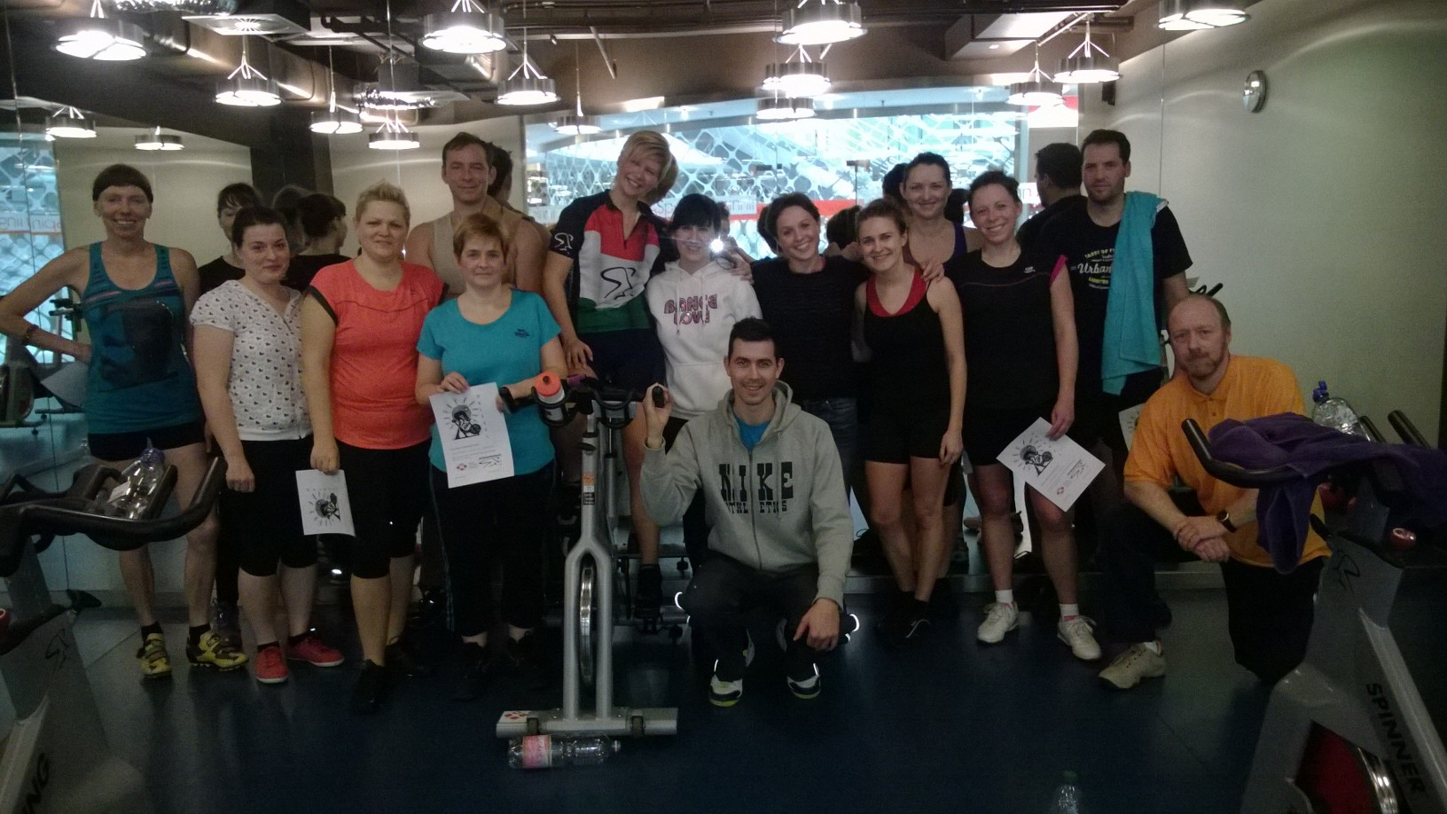 Bank Center Fitness - képgaléria - Spinning